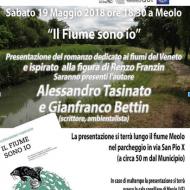 """""""Il Fiume sono io"""" presentazione A.Tasinato e G.Bettin, Meolo 19 maggio"""