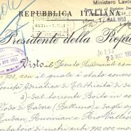 LAGO DI CADORE: concessione 1952 e richiesta revoca funzione anti piena