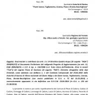 LAGO DEL CADORE: esposto-denuncia a Enel (2016)