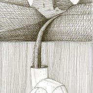LAGO DI CADORE nei disegni di Maurizio De Lotto