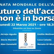 """Giornata Mondiale Acqua – 22/3 ore 18.30 """"Il futuro dell'acqua non è in Borsa"""""""
